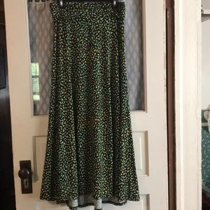 LuLaRoe maxi skirt small